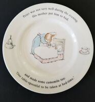 """Wedgwood Peter Rabbit Frederick Warne 6.75"""" Plate Made in England 1993"""