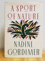 A Sport Of Nature Nadine Gordimer 1987 First Edition 1st Printing HC/DJ