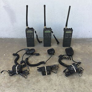 Lot of 3 Realistic HTX-202 VHF FM Transceiver with Error 1 Message