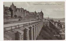 Canada, Chateau Frontenac & Dufferin Terrace, Quebec Postcard, B121