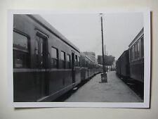 TUN02 - 1960s SNCF A VOIE ETROITE - TUNIS RAILWAY - TRAIN PHOTO Tunisia