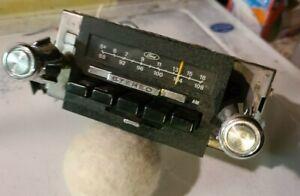 1973 74 75 76 77 78 79 FORD RADIO AM FM RADIO TRUCK  1978 79 BRONCO