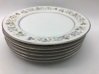 Imperial China WILD FLOWER Bread / Salad Plates Set of 6 Pattern #745