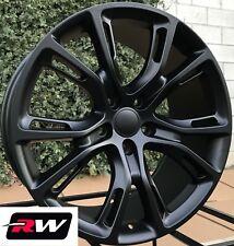 "(4) 20x10"" inch RW Wheels for Grand Cherokee Matte Black SRT8 Spider Monkey Rims"