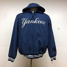 New York Yankees G-III Vintage Distressed Look Hooded Polyester Jacket w/ lining