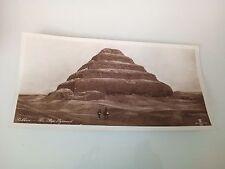 Lehnert & Landrock Cairo Sakkara The Step Pyramid original photogravure  15x30
