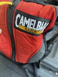 Camelbak Razor hydration backpack water pack camelback Red gray black USA Made