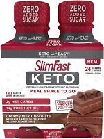 SlimFast Keto Advanced Nutrition Chocolate Shake Ready Meal Replacement 44 Fl Oz