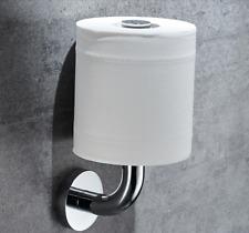 Modern Wall vertical Brass Chrome Finished Toilet Roll Holder Paper  Holder