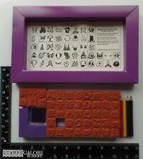 Rubber Stampede Rubber Stamps Face Case Kit Kids