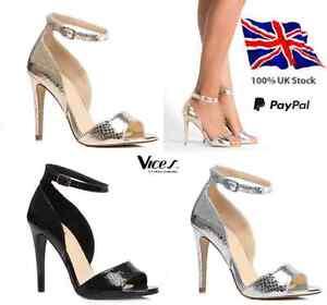 Womens-Ladies Sexy High Heels Stilettos Shoes NEW*UK Size 2-7 UK STOCK!