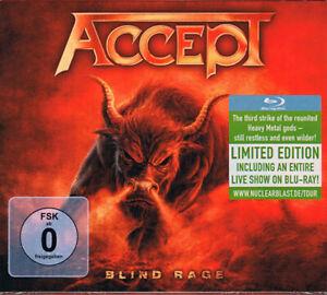 Accept - Blind Rage - CD/Blu-ray