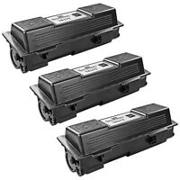 3pk For Kyocera Mita Black TK-172 Laser Toner Cartridge FS-1320D and FS-1370DN