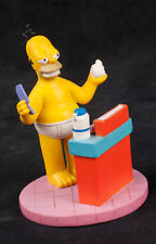 Simpsons At Home With Homer Hair Dream Hamilton Collection Sculpture
