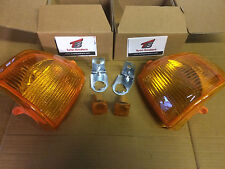 Ford Escort MK4 86-90 AMBER Front Indicators + side reapaters 1xPair Orion RS XR