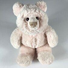 "GUND Plush Bear VTG 1988 Soft Pink Stuffed 18"" Teddy 80s Toy Kids Cute Animal"