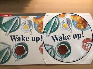 Promo Picture Disc VINYL LP Honda Wake up Europe Spagna REO Speedwagon Bangles