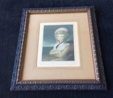 """EDMUND WARDLE """"Mrs. Maria Cosway"""" Signed Proof Thomas Jefferson"""
