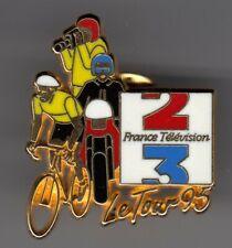 PINS CYCLISME VELO LE TOUR DE FRANCE 1990 AGF ASSURANCES SNCF DEMONS /& DEM