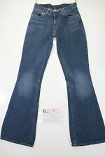 Levis 544 Flare Bootcut Cod. B290 Tg40 W26 L34 vaqueros usados Talle Bajo mujer