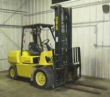 Hyster Forklift 8000 Lb Dual Wheels 48 Forks 1998