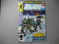 GI JOE #2 2nd Print (1982, Marvel)