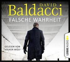 + Baldacci David : Falsche Wahrheit 6er CD HörBuch NEU Gekürzte Lesung