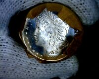 1881-cc Blast White Unc Morgan Silver Dollar from a fresh Roll Will Grade Out