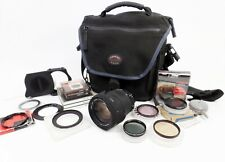 Vintage Sigma ZOOM 18-200mm 1: 3.5-6.3 DC OS 072 Lens + Bag, Filters and Rings