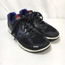 Reebok CrossFit Womens 9 Black Purple Lace Up Athletic Training Running Shoes