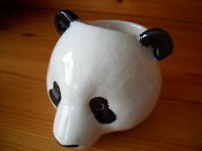 Unusual Panda Ceramic Egg Cup  Boxed Ideal Gift