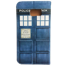 Doctor Who Tardis Leather Wallet Card Flip Stand Case For Samsung Galaxy Note 5
