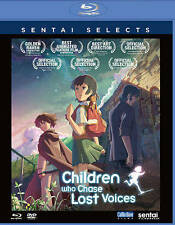 Children Who Chase Lost Voices from Deep Below (Blu-ray/DVD, 2016,4-Disc Set)New
