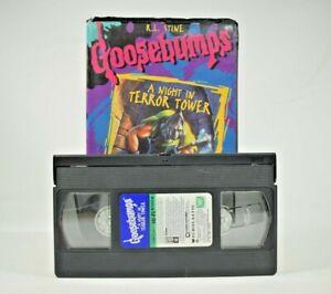 R.L. Stine Goosebumps - A Night in Terror Tower (VHS, 1997)