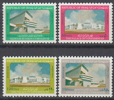 Irak Iraq 1981 ** Mi.1106/09 Freimarken Definitives Gebäude Buidlings