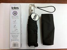 Black Totes 8603 Signature Auto Push Open / Close Folding Micro 'Bella Umbrella