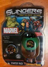 Upper Deck Marvel Slingers Starter Pack *NIP* Ages 7+ Fast-Slingin' Action!