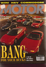 Motor Jan 94 Porsche 911 964 E34 540i MX-5 E36 325i coupe RX-7 MX-5 Capri S Coup