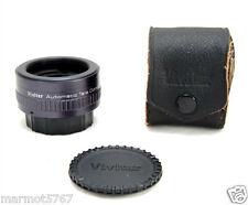 VIVITAR/PENTAX M42 2x TELE-CONVERTER!! w/CAPS & CASE!!