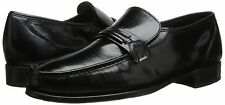 Florsheim COMO Mens Black Genuine Leather Slip On Loafers Dress Formal Shoes