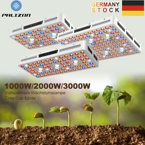 Phlizon COB 1000W 2000W 3000W LED Grow Light Vollspektrum Zimmerpflanzenlampe HP