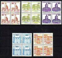 BRD 1139 - 1143 VB, je Viererblock postfrisch #d900