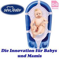 Bebé Badewannennetz Lujo Badenetz Azul Sevibaby Asiento Bañera Para de Malo