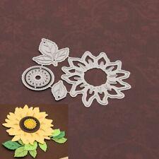 Sunflower Cutting Dies Stencil Scrapbooking Album Stamp Paper Card Crafts