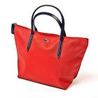 Lacoste Designer Womens Red Bag - Ladies Tote Shopper Handbag - BRAND NEW