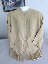 QVC Josephine gold 3/4 sleeve 100% silk jacket, size 3x, nwt