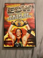 ECW - Path of Destruction (DVD, 2000, Uncensored)