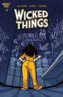 Wicked Things #2 Cvr A (2020 Boom! Studios) First Print Sarin Cover