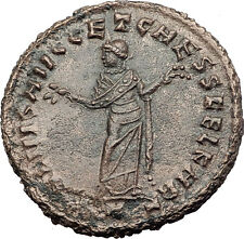 DIOCLETIAN 299AD Big Follis Authentic Ancient Roman Coin Carthago i63194