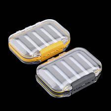 Double Side Waterproof Pocket Fly Fishing Box Slid Foam Insert 170 Flies AVA